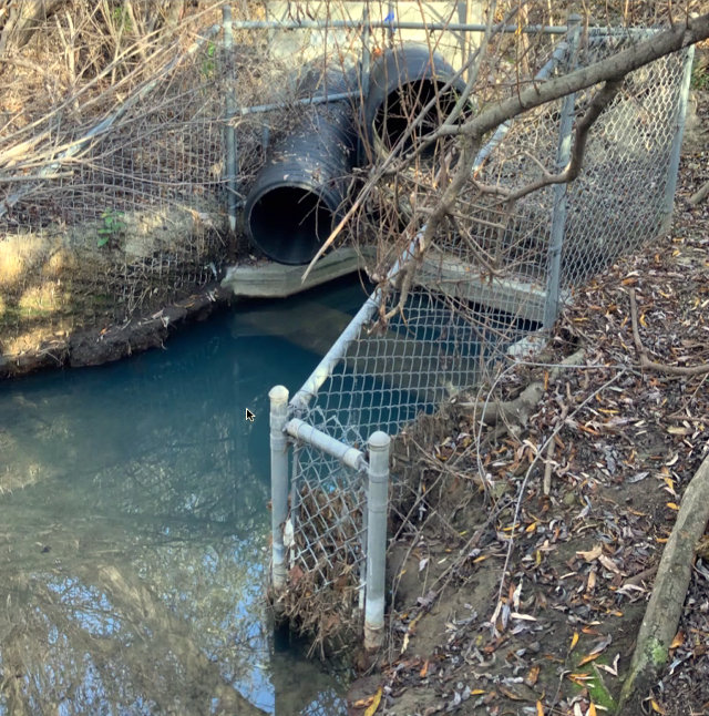 Pipes that dump storm water runoff into Batiquitos Lagoon